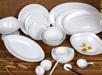 Can we eat on the melamine dinner plates?