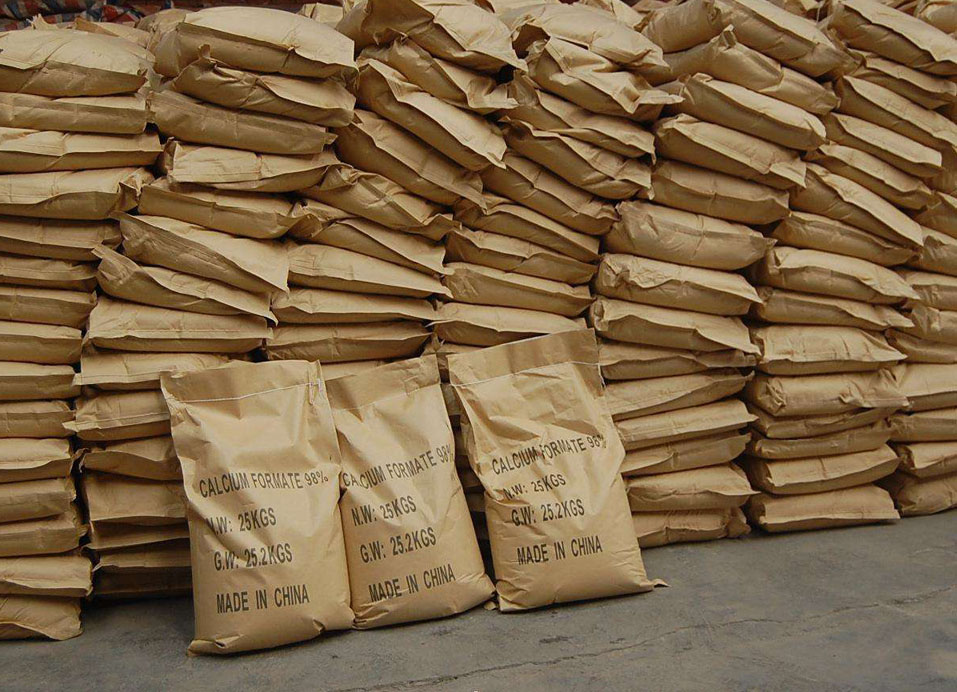 Calcium Formate used for feed additives