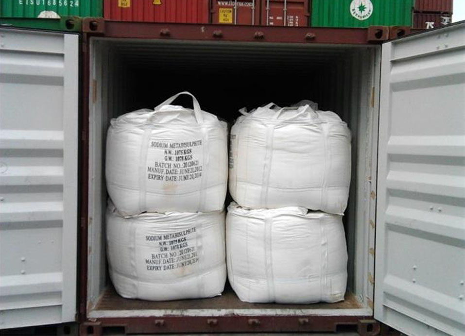 Sodium Metabisulfite/Sodium Pyrosulfite industrial grade for sulfonating agent